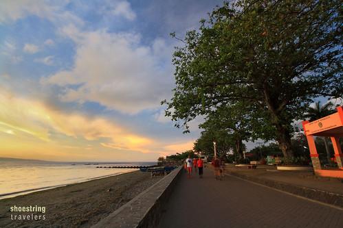 travel sea sky sun seascape beach water clouds sunrise landscape outdoors landscapes seascapes philippines tropical dumaguete waterscape negrosoriental rizalboulevard centralvisayas