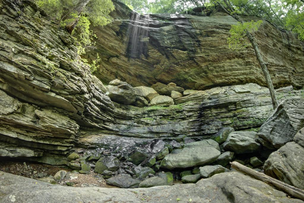 Anglin Falls, John B. Stephenson Memorial Forest SNP, Rockcastle County, Kentucky