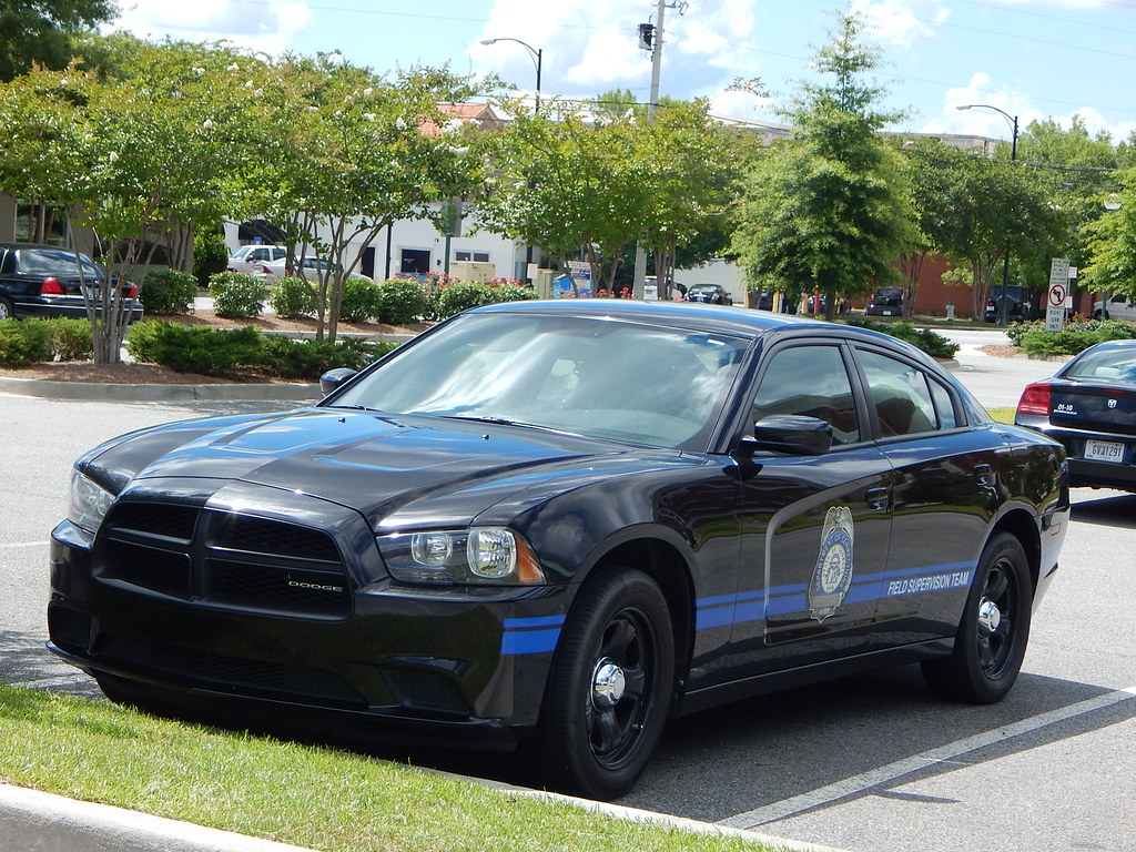 Georgia Department of Corrections Probation Dodge Charger