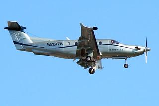 Pilatus PC-12                              (N523TW)