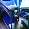 Blue as the Two Oceans! Our dorm room...