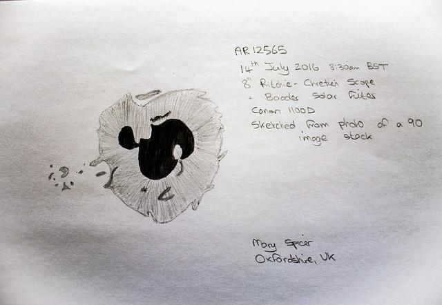 AR12565 White Light Sketch 14/07/16