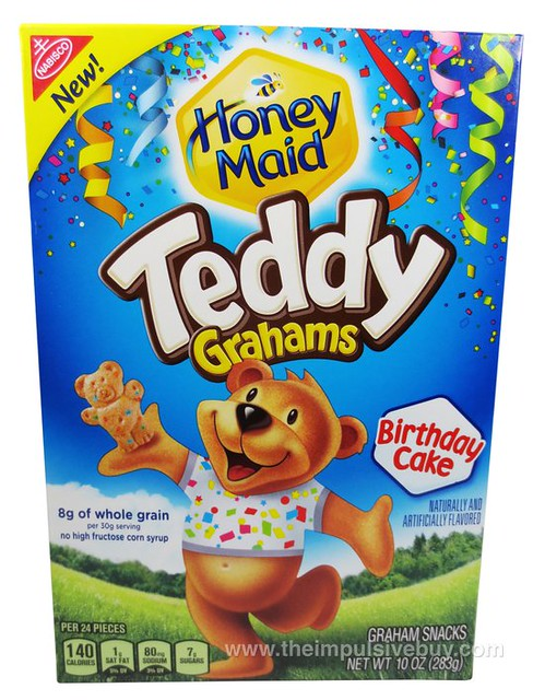 Honey Maid Birthday Cake Teddy Grahams | theimpulsivebuy | Flickr
