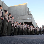 March 31, 2016 - 07:04 - Los Angeles County Sheriff Jim McDonnell addressing Transportation Bureau deputies, Men's Central Jail. March 31, 2016. Credit: Jaime A. Lopez, County of Los Angeles Sheriff's Department