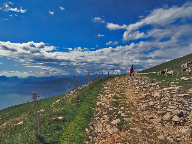 A visit to the clouds at Monte Baldo