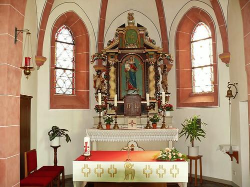 4. Innenansichten Kapelle