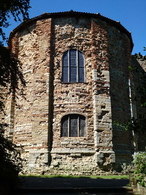 Castle round tower