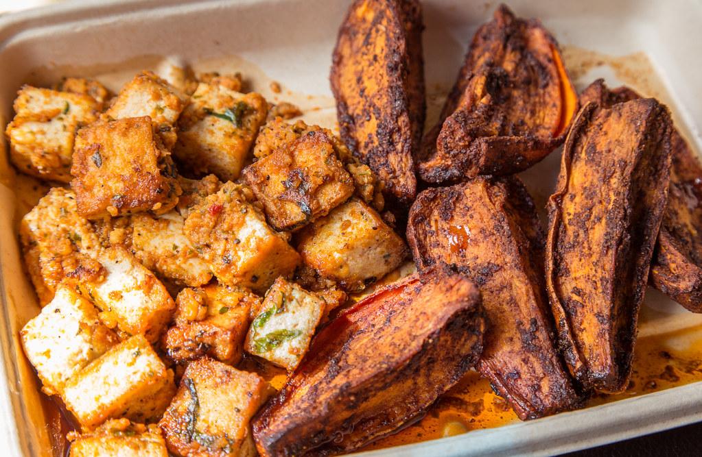 Agra Culture Tofu And Yams Minneapolis Minnesota Flickr