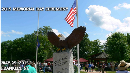 2015 Memorial Day in Franklin, NC