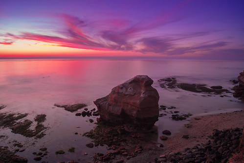 ocean california longexposure sunset beach sunrise sandiego oceanbeach birdrock
