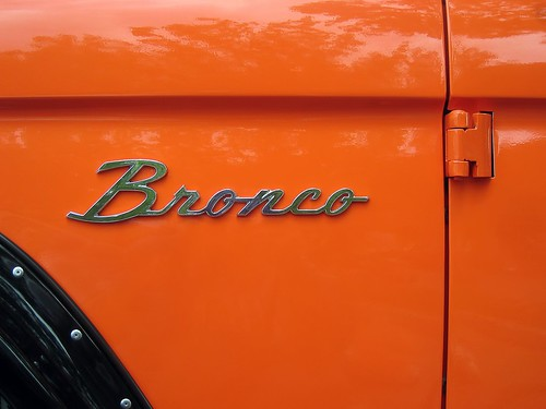 orange Bronco | by Paul L Dineen