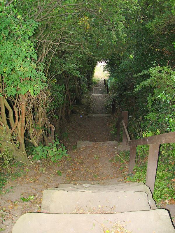 The hidden stair