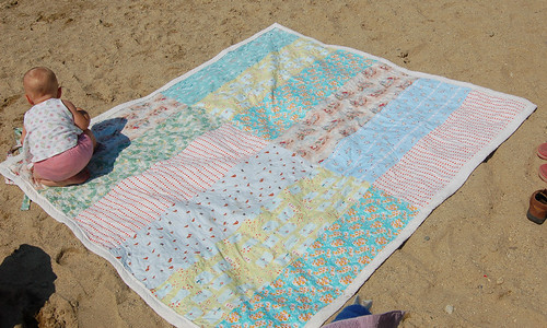 beach blanket | by SouleMama