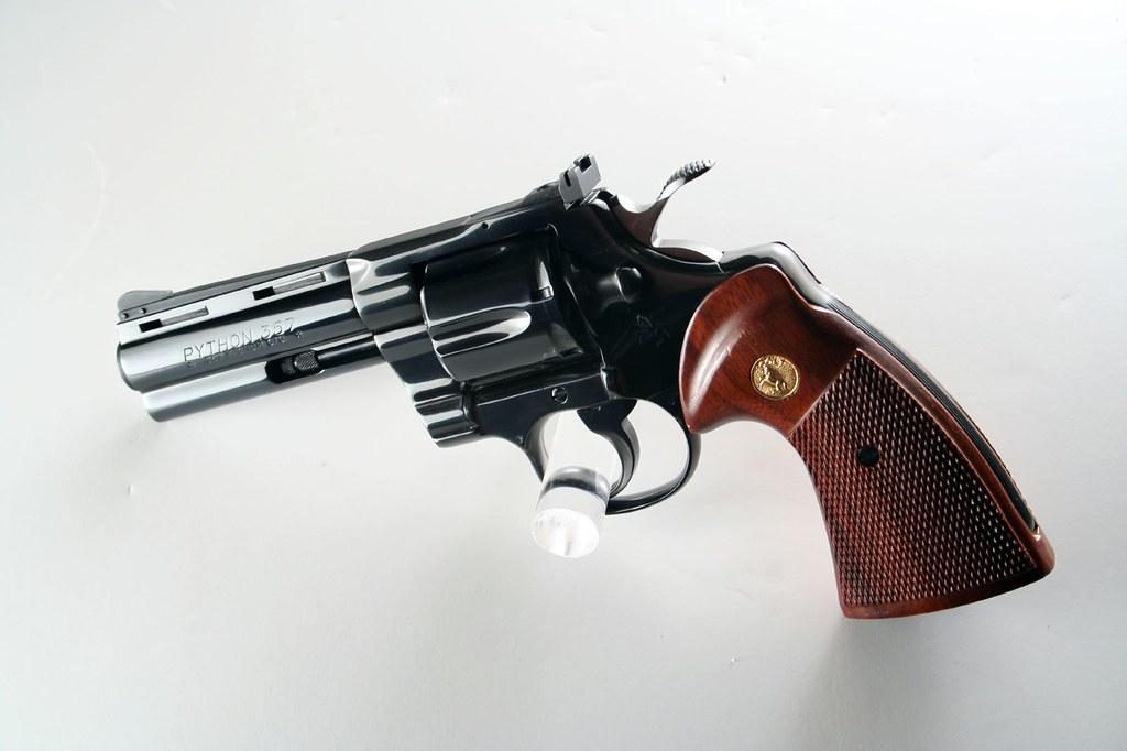 Colt Python(12) | Colt Python 4 inch Barrel | Stephen Z | Flickr