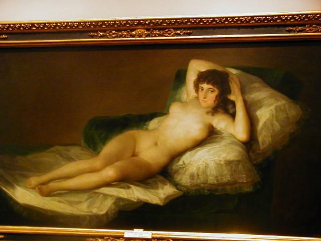 Goyas La Maja Desnuda Del Prado Museum Madrid Im Still Flickr