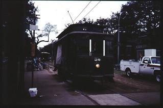 New Orleans tram, 1994