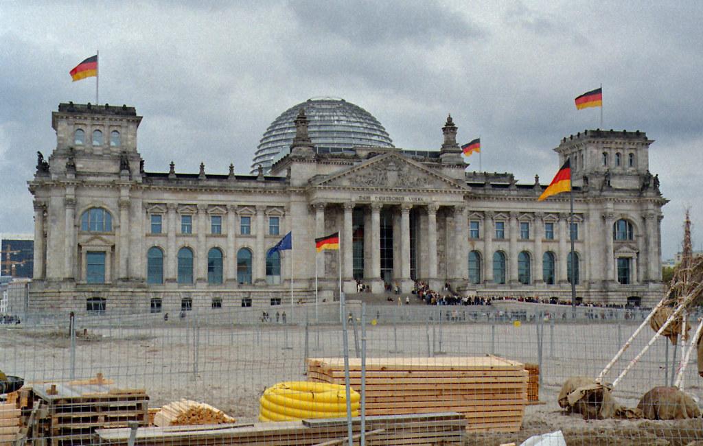 Berlin Reichstag 2001
