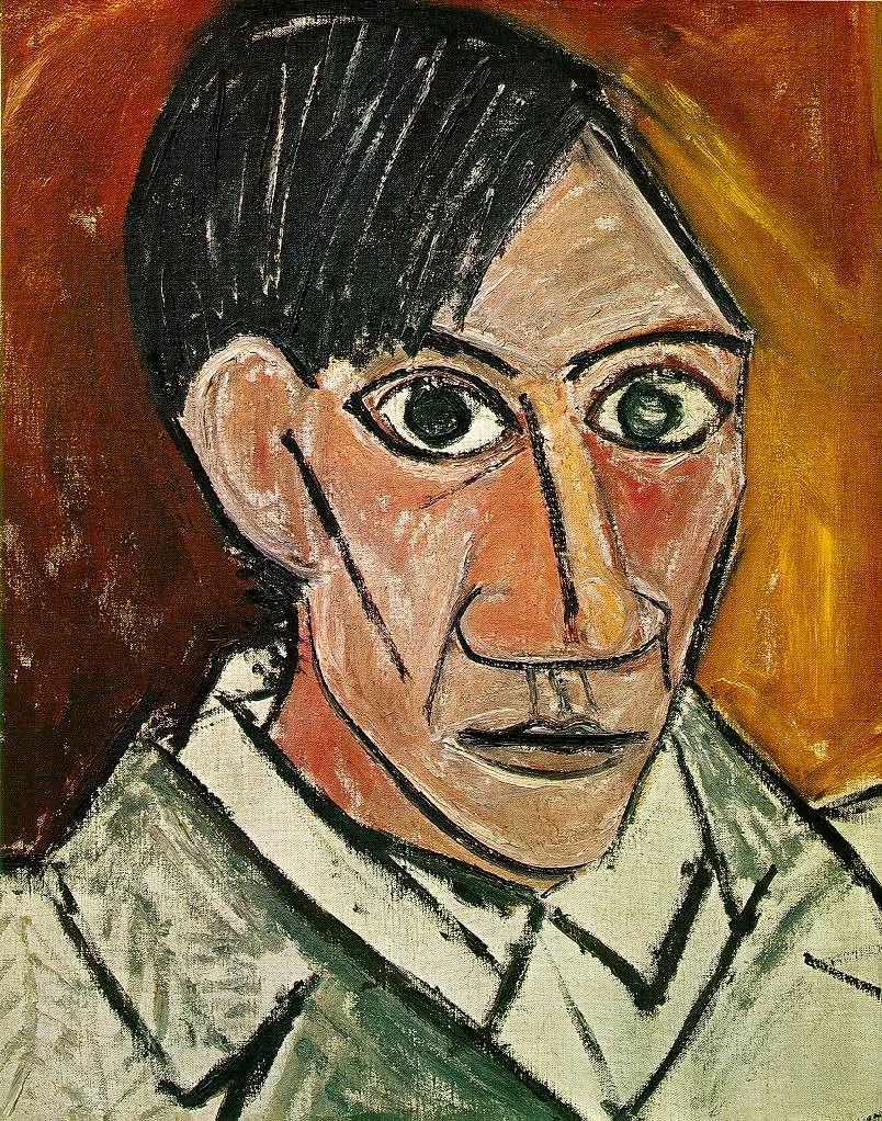 Self-portrait, 1907 // by Pablo Picasso