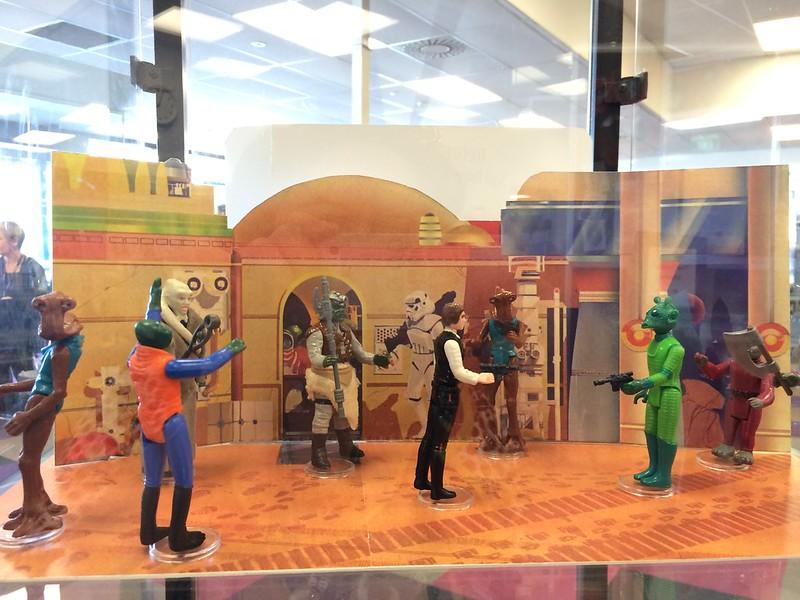 Mos Eisley Cantina display