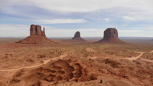 from monument view valley