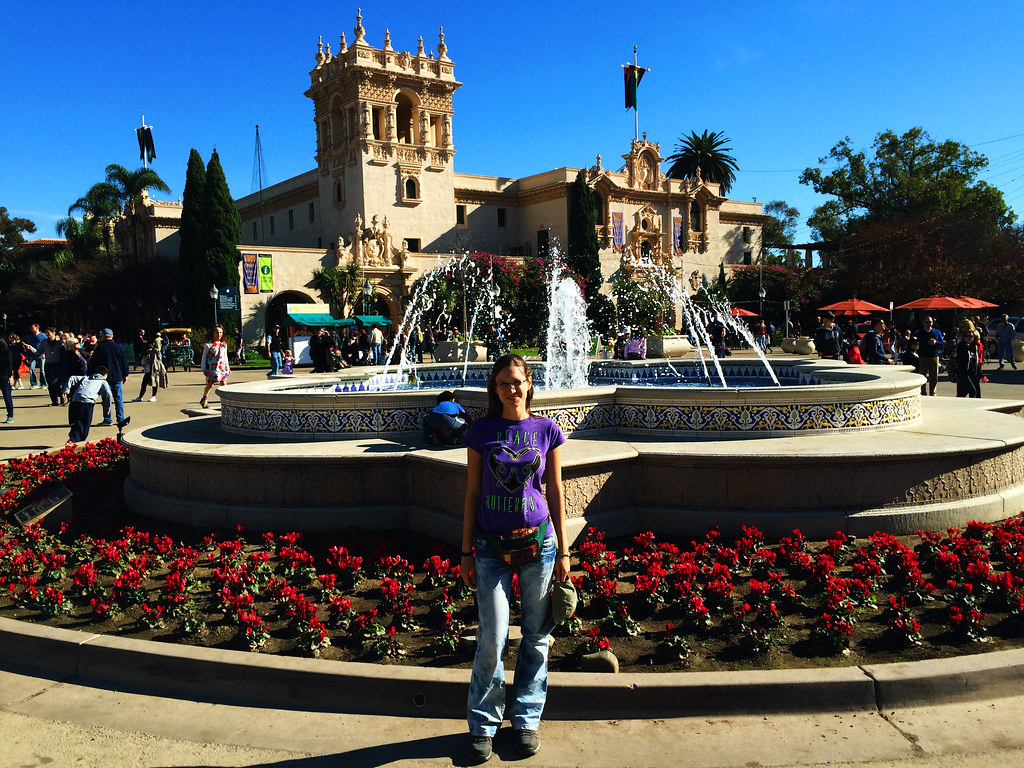 Travel Tips For California: Plaza de Panama, San Diego, California