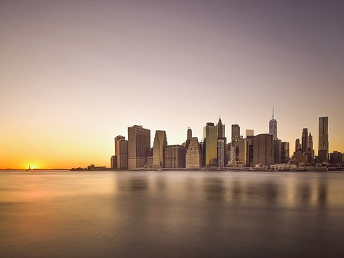 nyc longexposure travel sunset sun newyork statue brooklyn liberty photography manhattan nikond5300