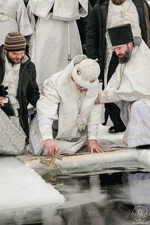 Литургия в Иверском монастыре 660