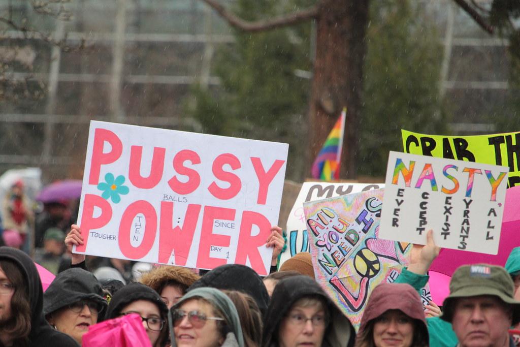 Women's March Eugene, Oregon | David Geitgey Sierralupe | Flickr