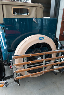 1938 Ford spare tire