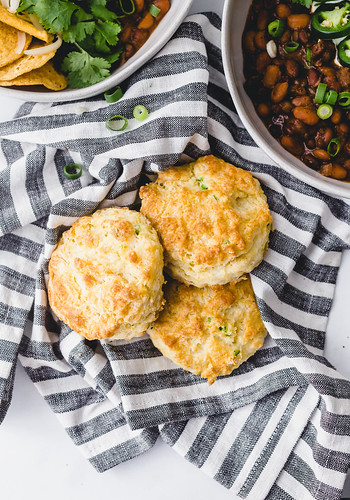 Jalapeno Cheddar Biscuits   by Smells Like Home