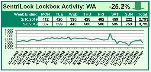 SentriLock Activity Daily Counts Charts WA 2-10-19 | by RMLS
