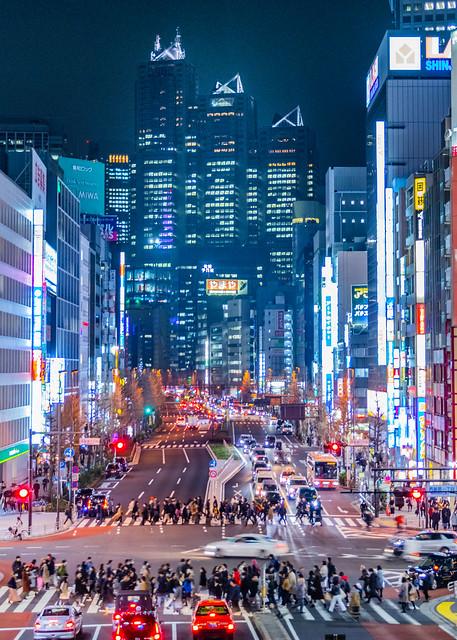 Shinjuku-station(South gate),Tokyo