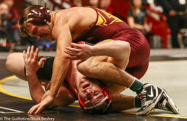3rd Place Match - Devin Skatzka (Minnesota) 26-8 won by decision over Mikey Labriola (Nebraska) 26-6 (Dec 4-2) - 190310dmk0152