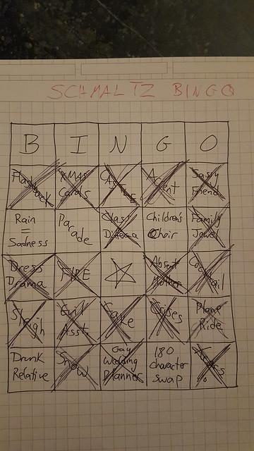 Schmaltz Bingo