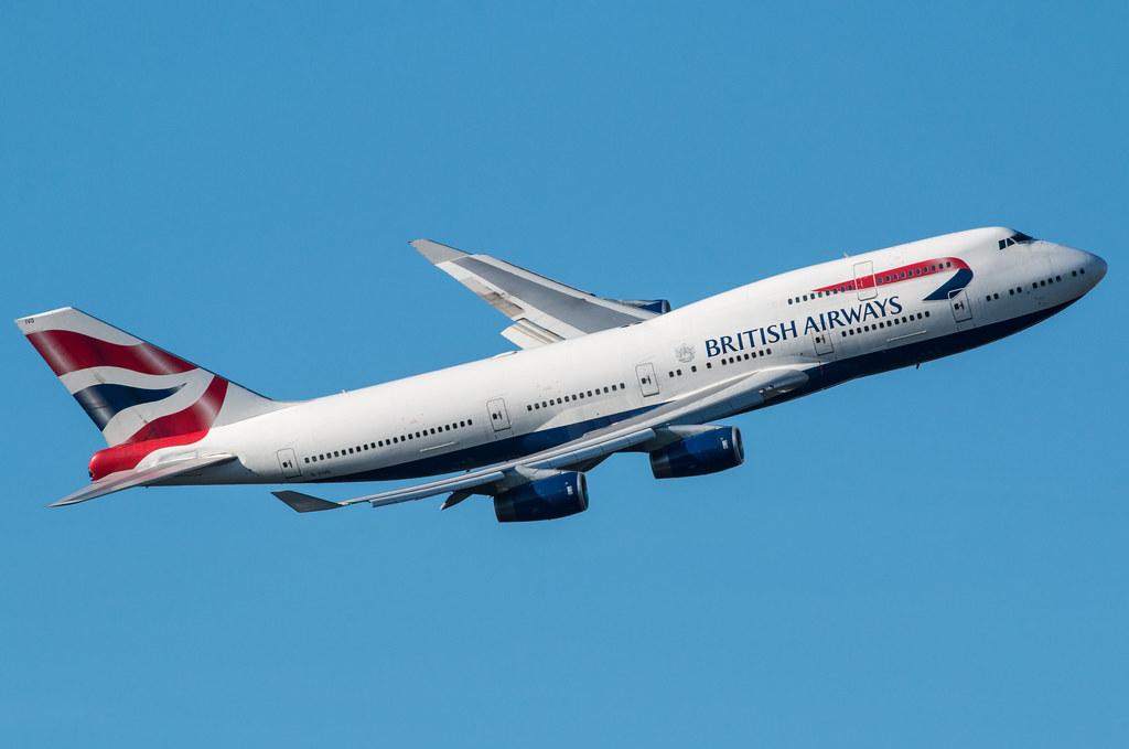 EGLL - Boeing 747 - G-CIVO