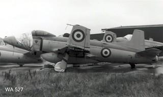 Supermarine FB.1 Attacker WA527