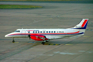 G-MAJG   BAe Jetstream 41 [41009] (Eastern Airways) Birmingham Int'l~G 11/10/2007