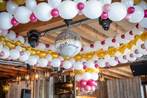 Plafond ballon decoratie | by BallondecoNL