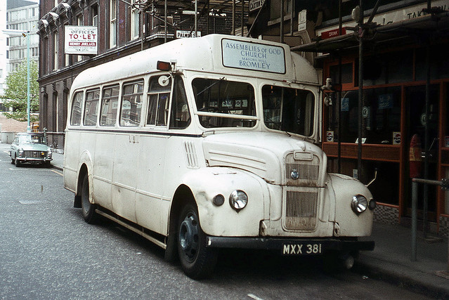 MXX381 . Tothill Street , Westminster , London . May-1970 .