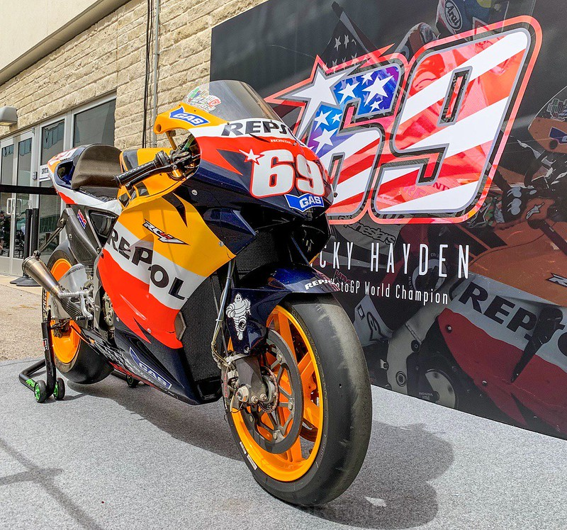 Nicky Hayden bike