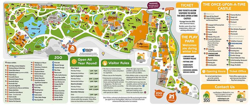 Zoo map