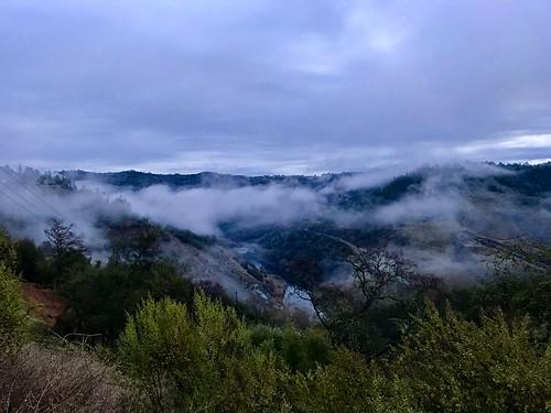 morningrun asra auburnstaterecreationarea trailrun americanrivercanyon fog sunrise runningwithfriends