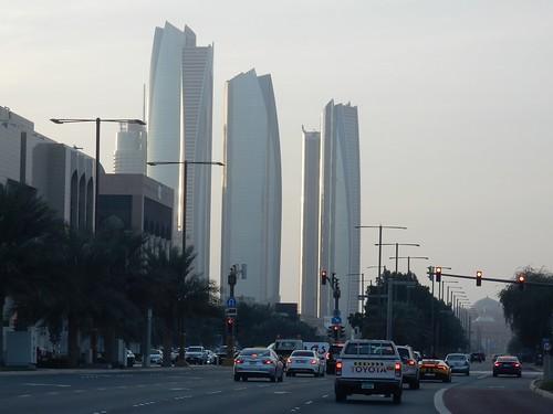 Abu Dhabi - Etihad Towers - 1