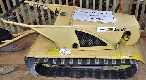 snowmachine snowblower belt mypics osgoodetownshipmuseum vernon osgoodetownship ottawa ontario canada
