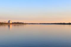 Tom river near Tomsk city
