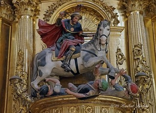 DSC00282 - Burgos, St. Jakob als Heidentöter