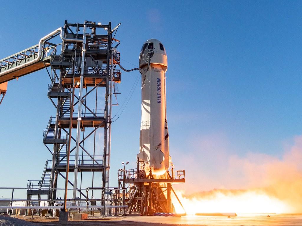 Blue Origin New Shepard NS-10 Ignition