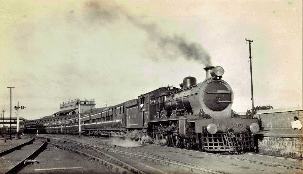 India Railways - Madras and Southern Mahratta Railway - MS