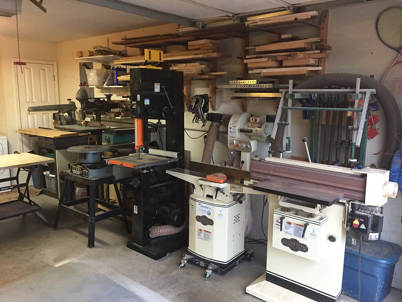 One Car Garage Woodworking Talk Woodworkers Forum