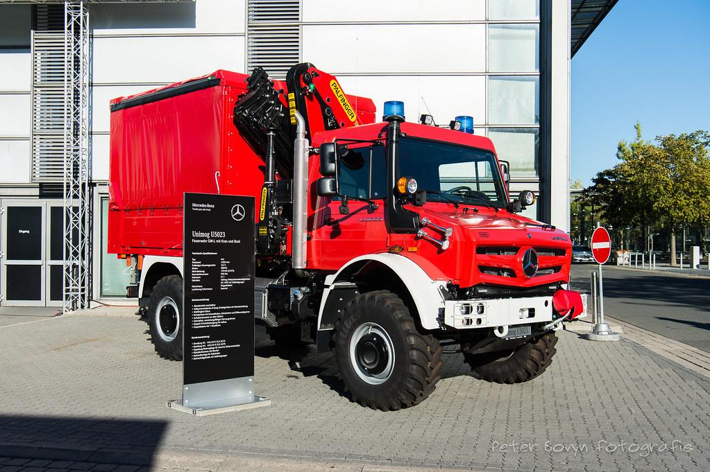 Feuerwehr Unimog U5023